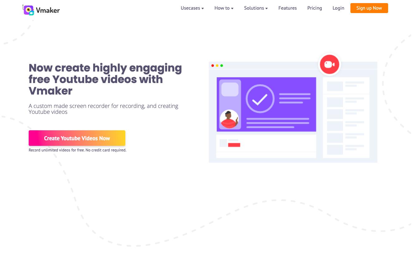 Vmaker YouTube Screen Recorder