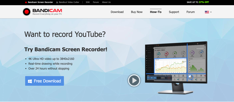 Bandicam YouTube Screen Recorder